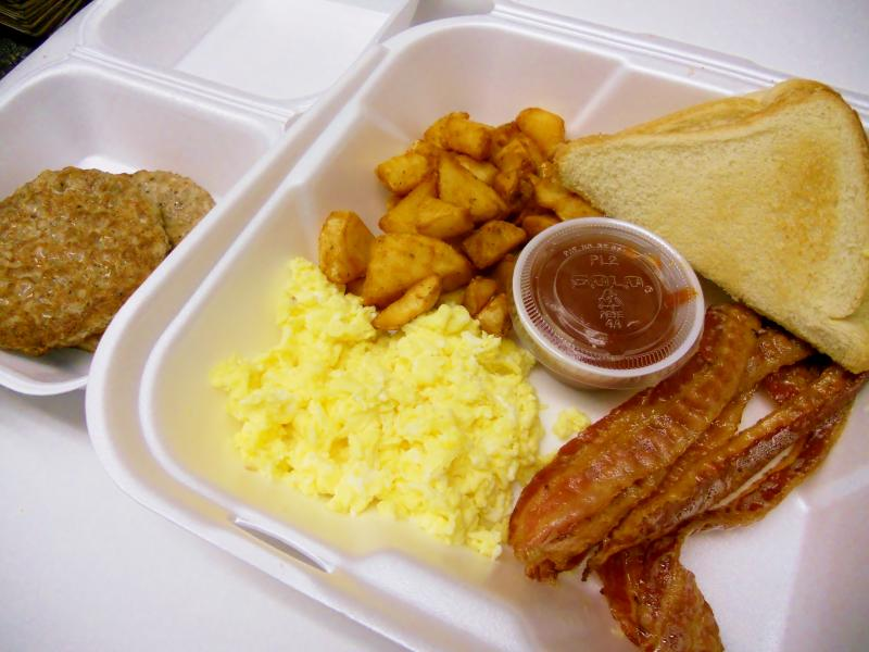 Breakfast Plate #2 Delivery